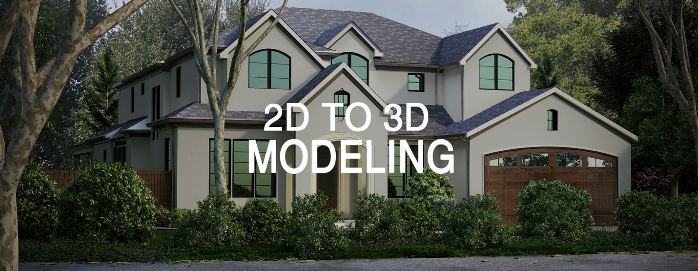 Importance of 2D And 3D Asset Modeling In Architectural Design and Industry