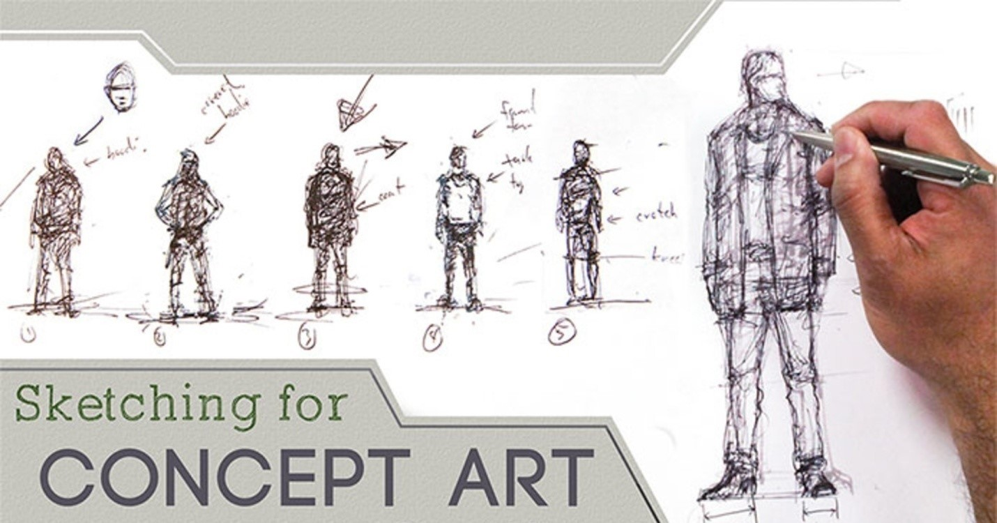 How To Draw Concept Art?