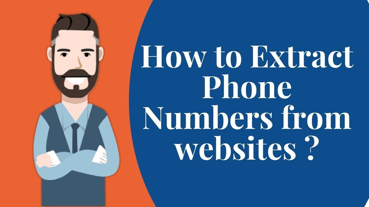 How to Extract Phone Number from a Website?