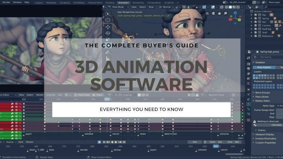 Top 7 3D Animation Software In 2021