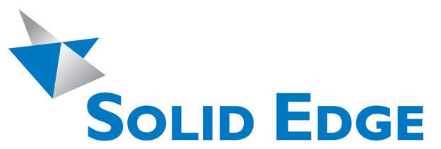 Logo for Solid Edge by Siemens.