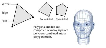 Polygons are a fundamental building block of 3D modeling