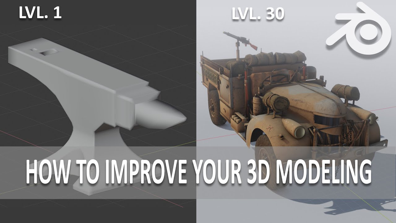 10 tips to Improve your 3d modeling skills - YouTube