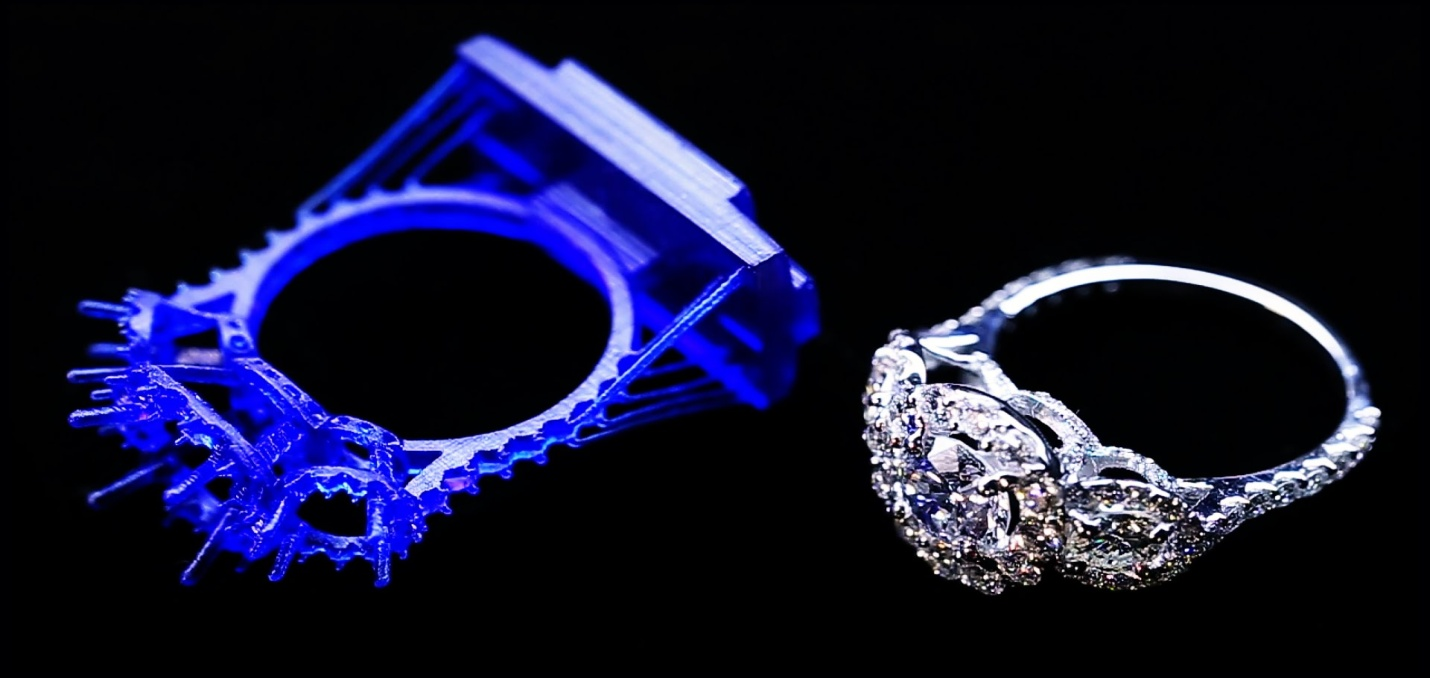 3D Printing the Solution to Complicated Jewelry Designs   The Diamond Loupe