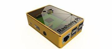 A Raspberry Pi case made in Fusion 360