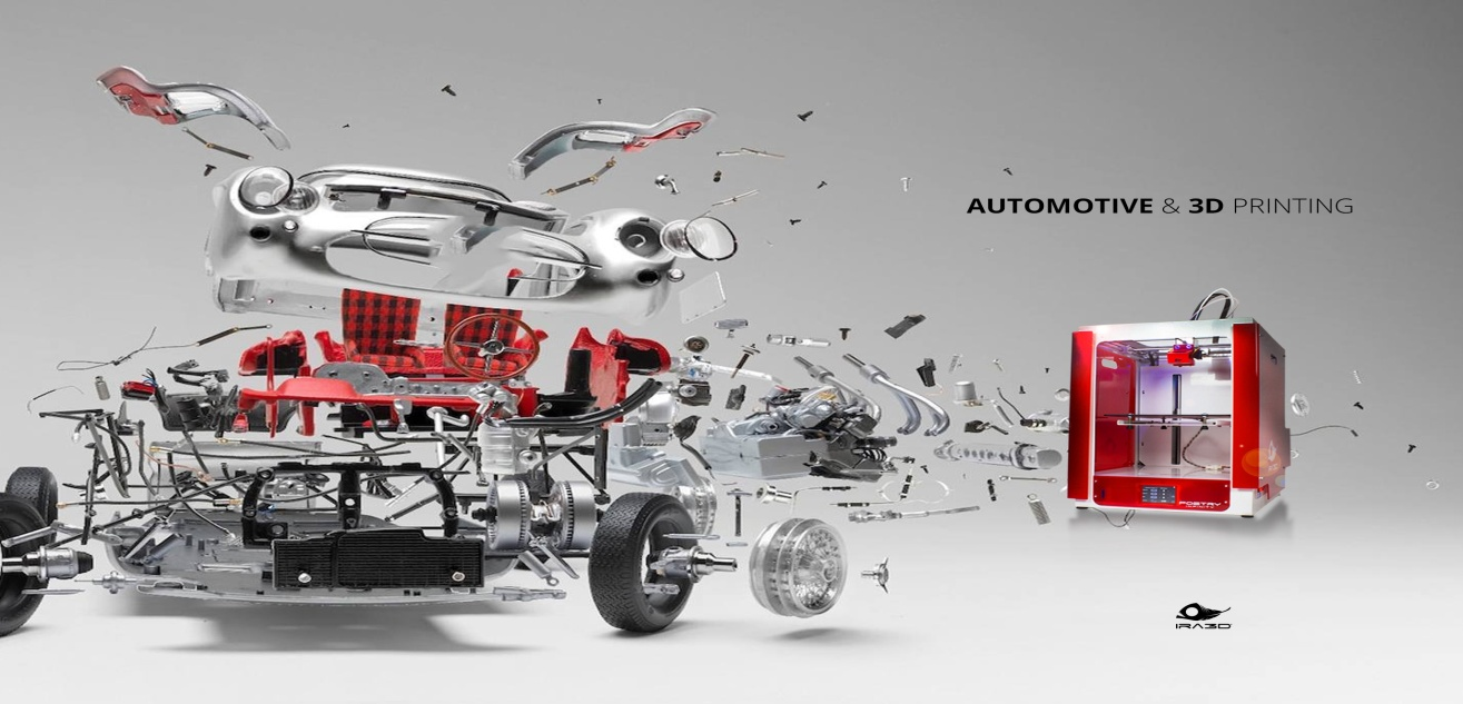 AUTOMOTIVE & 3D PRINTING. Soon the future of the automotive…   by Ira3D Team   Medium