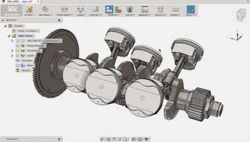The automotive industry is just one industry where Fusion 360 can be used