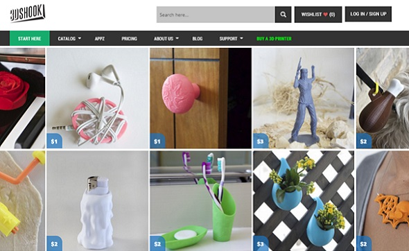 3D Shook offers fun 3D models to download.