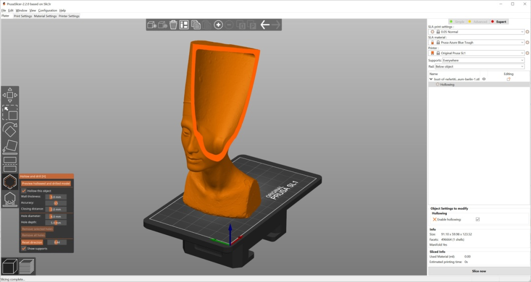 PrusaSlicer 2.2.0 is out! Hollowing, support for 3rd party printers and  more! - Prusa Printers