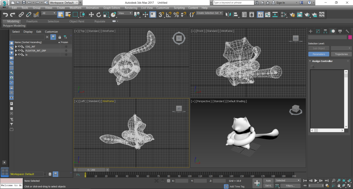 3ds Max, 3D Object Export - Lens Studio by Snap Inc.