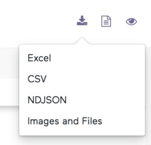 data from a website