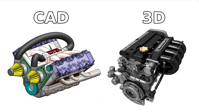 CAD Vs 3D Modeling: Which Software to Choose?