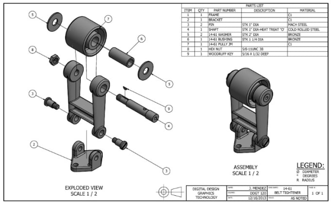 Do technical drawing, mechanical design and 3d cad modeling by Sandanathc    Fiverr