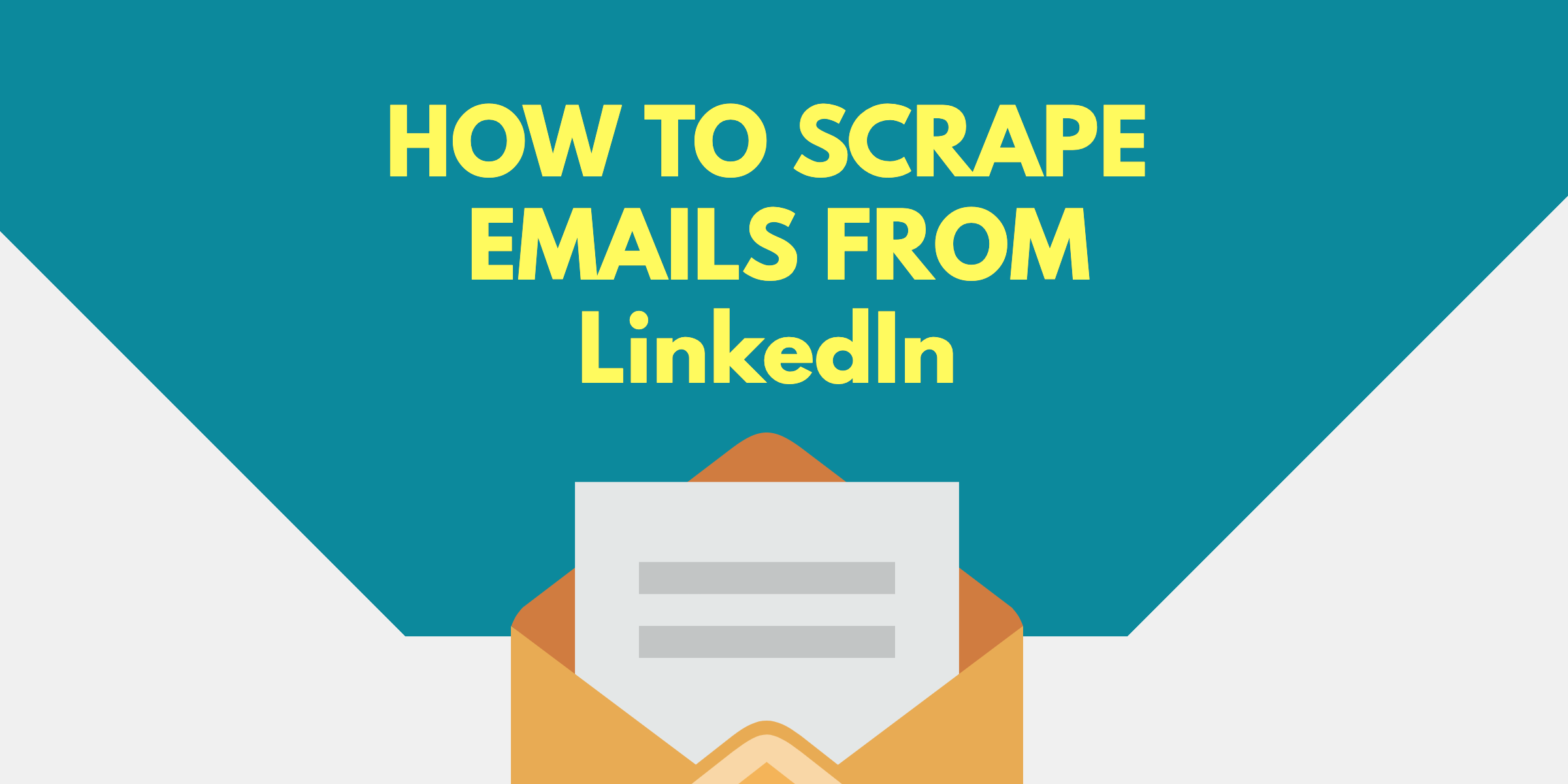 How to Scrape Emails from LinkedIn - ProxyRack