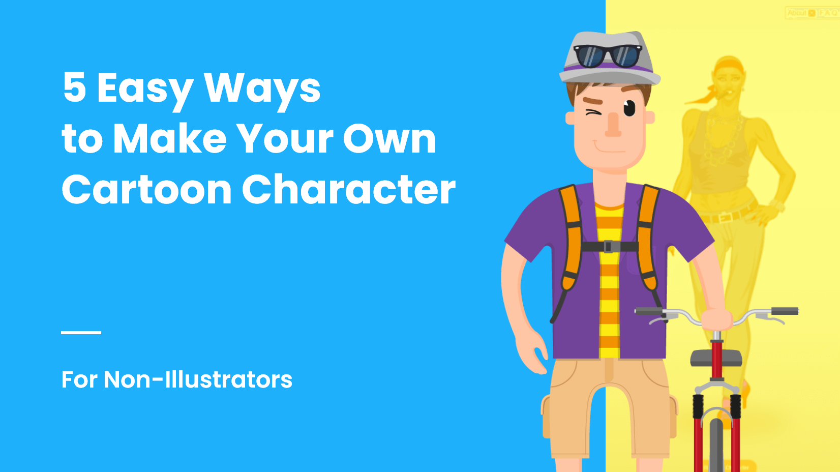 5 Ways to Make Your Own Cartoon Character