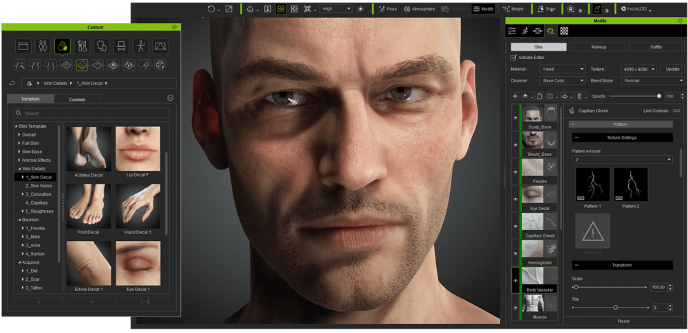 Reallusion releases Character Creator 3.3 and SkinGen - Renderosity Magazine