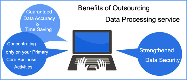 Top 5 Benefits of Outsourcing Data Processing Service : eDataIndia
