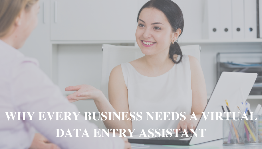 Why Every Business Needs A Virtual Data Entry Assistant